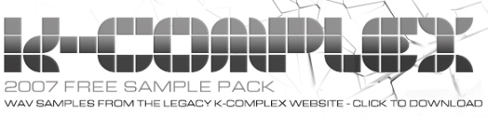 K-Complex Free Samples 2007