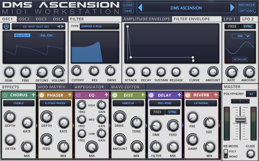 DMS-ASCENSION-VST-SYNTHESISER-MAIN-SCREEN